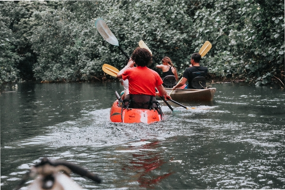 try out canoeing this summer